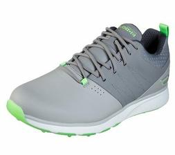 New Skechers Golf- Go GOLF Mojo Punch Shot Shoes Gray/Lime S