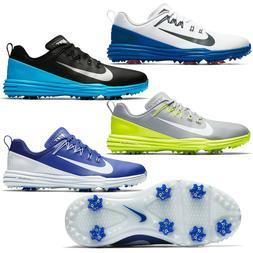 New NIKE GOLF LUNAR COMMAND 2 Men's Golfing Shoes Cleats Spi