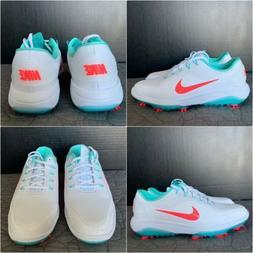 New NIKE Golf Men's React Vapor 2 Shoes White Punch BV1135 S