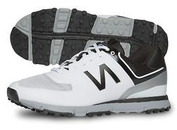 New New Balance Golf- NBG518 Mens Golf Shoes White/Black Siz