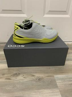 New ECCO Golf S-Drive Spikeless Golf Shoes Concrete Kiwi Men