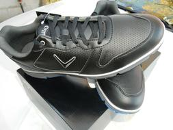 NEW Callaway Golf Shoes Black Seaside TR Gray Size 10 Mens M