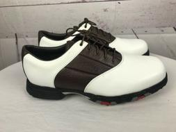 NEW Callaway Golf Shoes Men's XWT Saddle M238-14 Sz 10 White