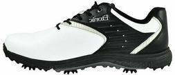 New Etonic Golf- Stabilite Shoes White/Black Size 9.5 Wide E