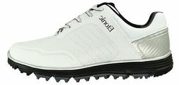New Etonic Golf- Stabilite Sport Shoes White/Black Size 12 W