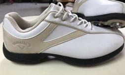 NEW! GREAT DEAL!!Callaway Golf  Shoes Womens Size 7 TAN AND