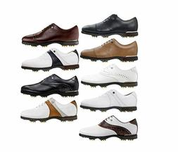 New Footjoy Icon Black Golf Shoes - Manufacturer Discontinue