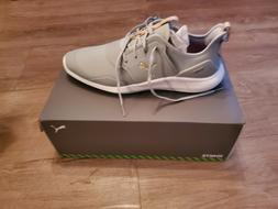 NEW PUMA IGNITE NXT PRO HIGH RISE TEAM GOLD MENS GOLF SHOES