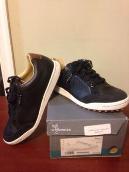 NEW In Box Ashworth Cardiff Men's 9 Medium Golf Shoes Black