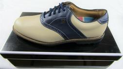New in Box Footjoy Club Professionals Men's Golf Shoes, Bone