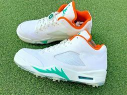 NEW IN BOX Nike Golf Jordan 5 Retro Low 'Lucky and Good' Men