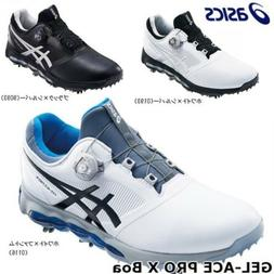 New Asics Japan Golf Shoes GEL-ACE PRO X Boa Soft Spike TGN9