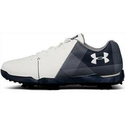 NEW Junior Under Armour Spieth 2 Kids Golf Shoes White / Aca