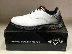 "NEW Callaway LaJolla White/Black/Red ""Waterproof"" Men's Golf"
