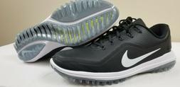 NEW! Nike Lunar Control Vapor 2 Golf Shoes Black White 89963