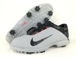 NEW Nike Lunar Fire Golf Shoes Cleats Grey Black Red 853738-