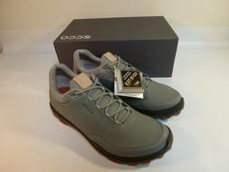 New Ecco M Golf Biom Hybrid 3 Golf Shoes Men's Gray - EU 45
