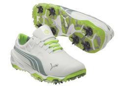 NEW MEN'S PUMA BIOFUSION GOLF SHOES WHITE/TRADEWINDS 187089-