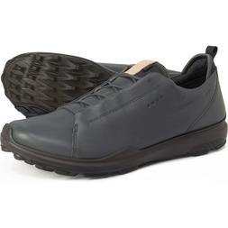 New Men`s ECCO BIOM Hybrid 3 Gore-Tex Golf Shoes Yak Leather