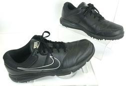 NEW Men's NIKE Black/Silver Golf Shoes 844551-001 Size 11.5
