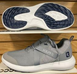 NEW Men's Closeout FootJoy Flex Golf Shoes Gray 56106 - Choo