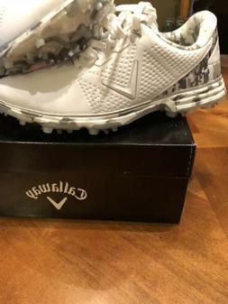 Callaway - New Men's Coronado Spiked Golf Shoes - Camo 2019