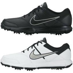 New Men's Nike Durasport 4 Golf Shoes Cleats Wide Medium Bla
