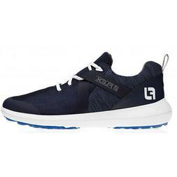 New Men's FootJoy Flex Spikeless Golf Shoes - Blue - 56102