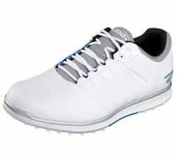 NEW MEN'S SKECHERS GO GOLF ELITE 2 GOLF SHOES WHITE 54502/WG