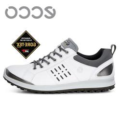 New Ecco Men's Golf Biom Hybrid 2 GTX Golf Shoes sz 45 46 47