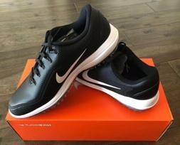 NEW Nike Men's Lunar Control Vapor 2 Golf Shoes Black White