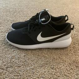 NEW Nike Men's Size 12 Roshe G Spikeless Golf Shoes Black/Wh