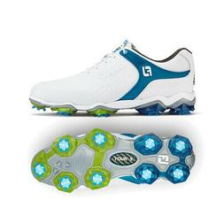 New Men's FootJoy Tour-S Golf Shoes - White/Green - 55300