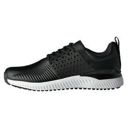 NEW Adidas Mens Adicross BOUNCE Leather Golf Shoes Black/Bla