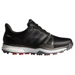 NEW MEN'S ADIDAS ADIPOWER BOOST 2 BLACK GOLF SHOES Q44660