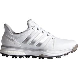 NEW MENS ADIDAS ADIPOWER BOOST 2 WHITE GOLF SHOES Q44659/F3