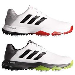 NEW Mens Adidas Adipower Bounce WIDE Width Golf Shoes White