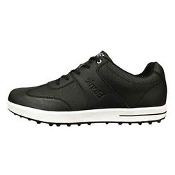 NEW Mens Etonic Comfort Hybrid Waterproof Golf Shoes Black/W