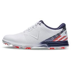 New Mens Callaway Coronado Golf Shoes CG100RWB Red / White /