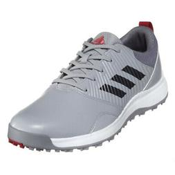 NEW Adidas Mens CP Traxion SL Spikeless Golf Shoes Onix/Silv