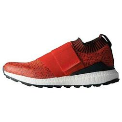 New Adidas Mens Crossknit 2.0 Boost Golf Shoes Red / Carbon