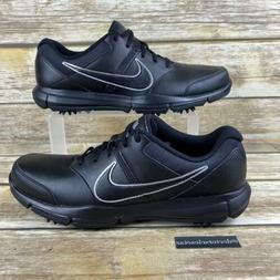 NEW Nike Men's Durasport 4 Golf Shoes Black/Silver 844550-