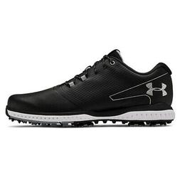 NEW Mens Under Armour Fade RST 2 Golf Shoes Black / Steel -