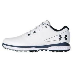NEW Mens Under Armour Fade RST 2 Golf Shoes White / Steel -