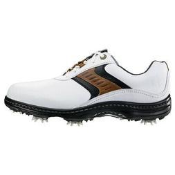 NEW Mens FJ FootJoy Closeout Contour Golf Shoes 54130 White