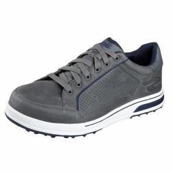 New Mens Skechers Go Golf Drive 2-LX Golf Shoes Charcoal Siz