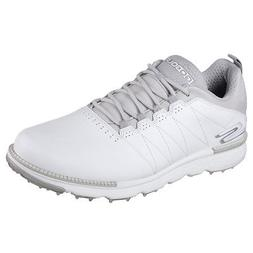 NEW Mens Skechers Go Golf Elite V3 Golf Shoes 54523 White/Gr