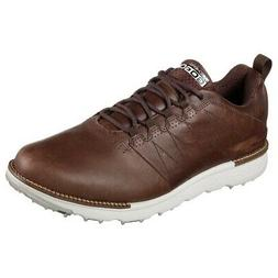 NEW Mens Skechers Go Golf Elite V3 LX Golf Shoes 54524 Choco