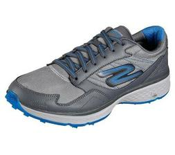 NEW Mens Skechers Go Golf Fairway Golf Shoes Charcoal/Blue S