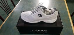 New FootJoy Mens Golf Athletics Spikeless Shoe- White  *Mult
